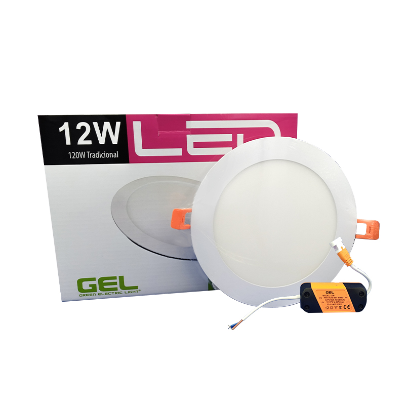 IM1 PANEL LED 10180D-DL RED/EMP 12W 6.5 6400K L/BLANCA