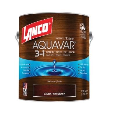 LANCO AQUAVAR CAOBA / MAHOGANY AQ1360-4 ( GLN)