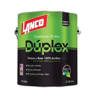 LANCO DUPLEX PINTURA BLANCO SATIN DU3427-4 (GLN)